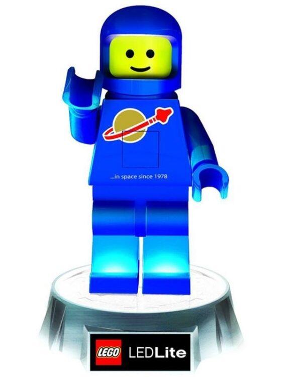 Torcia e luce notturna Lego Spaceman Blu