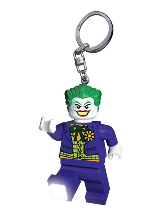 Portachiavi con luce Lego Joker Batman