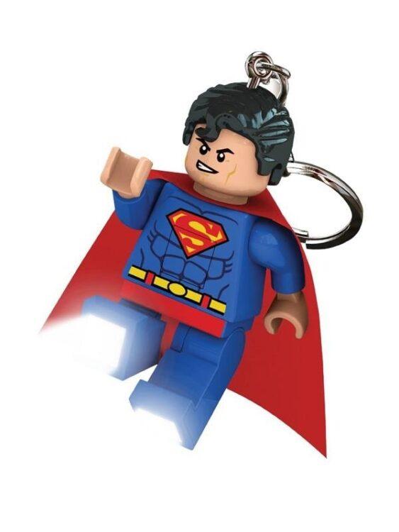 Portachiavi con luce Lego Superman