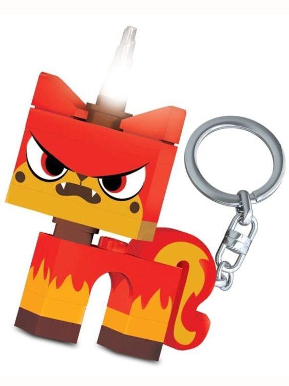 Portachiavi con luce Angry Unikitty Lego Movie
