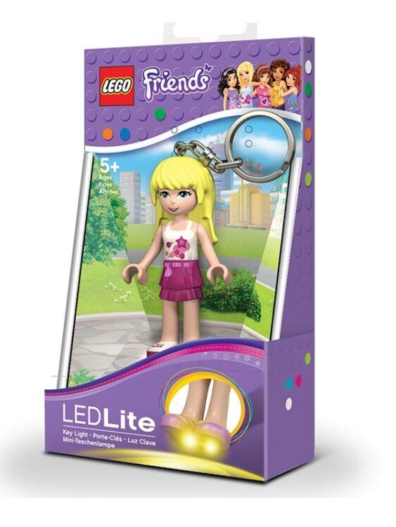 Portachiavi con luce Lego Friends Stephanie