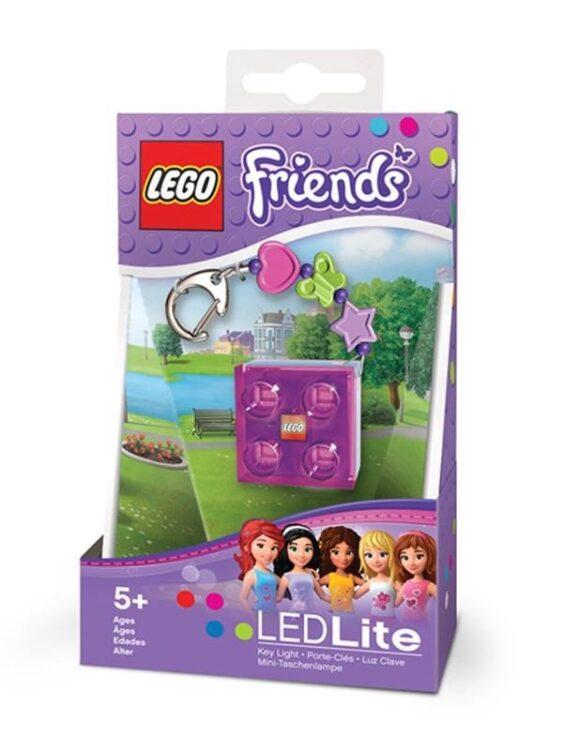 Portachiavi con luce Lego Friends Mattoncino