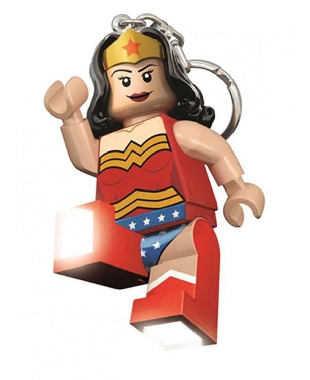 Portachiavi con LED di Wonder Woman Lego DC Superheroes