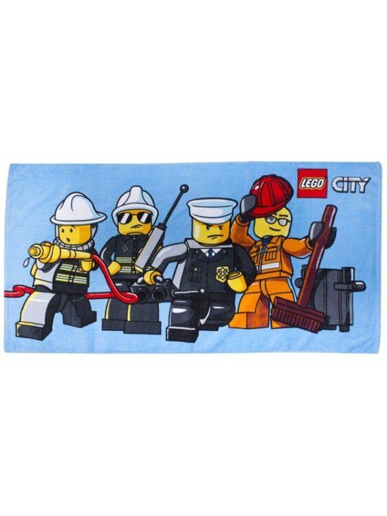 Asciugamano telo mare Lego City Heroes