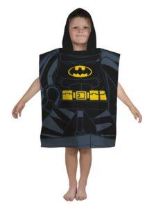 Accappatoio poncho con cappuccio Lego DC Superheroes Batman