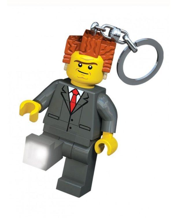 Portachiavi con LED Lego Movie - Presidente Business