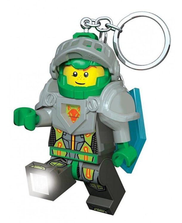 Portachiavi con LED di Lego Nexo Knights Aaron