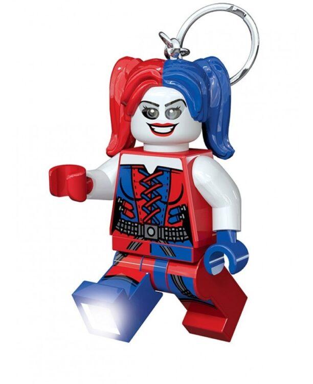 Portachiavi con LED di Harley Quinn Lego DC Superheroes