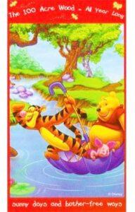 Telo Mare Winnie the Pooh e Tigro