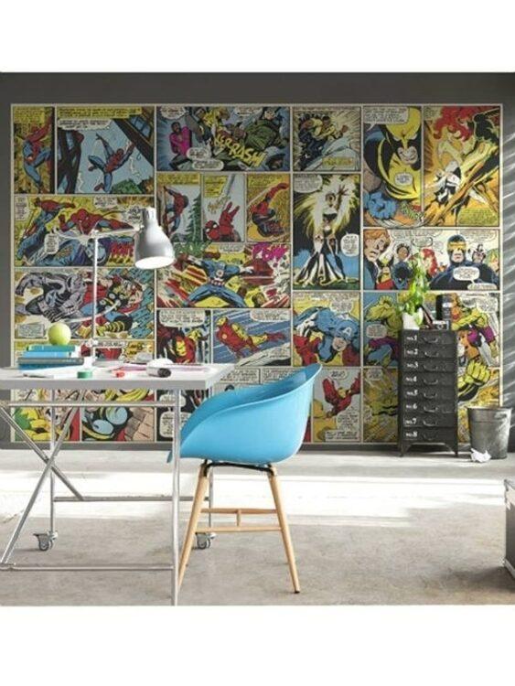Fotomurale Marvel Heroes 368cm x 254cm