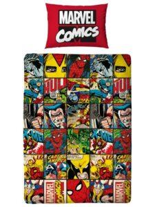 "Parure copripiumino singolo reversibile Marvel Heroes ""Defenders"""