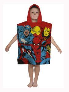 Accappatoio poncho con cappuccio Marvel Comics Justice