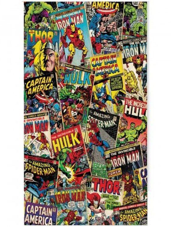 Asciugamano Telo Mare Marvel Comics