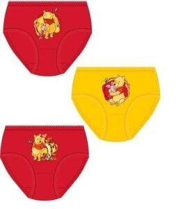 Set 3 slip bimba Winnie The Pooh