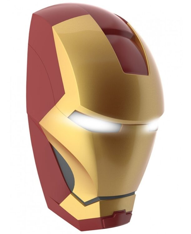 Luce da parete 3D a LED Iron Man Mask
