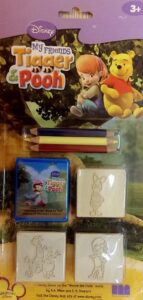 Set timbri e colori Winnie The Pooh