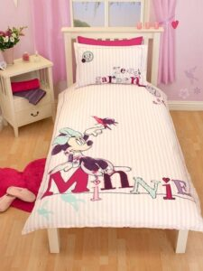 Parure copripiumino singolo Disney Minnie