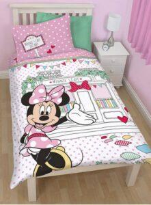 Parure copripiumino singolo reversibile Disney Minnie