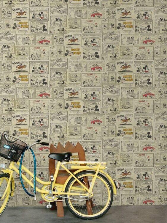 Carta da parati Topolino & Minnie Fumetti 10mt