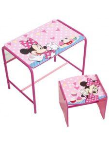 Scrivania e sgabello Disney Minnie Doodle