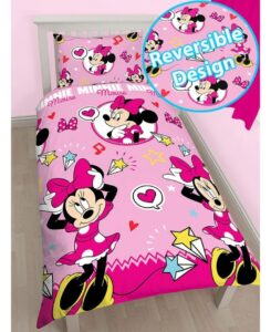 Parure copripiumino singolo Disney Minnie Style