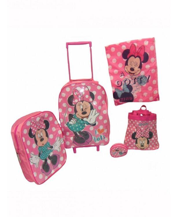 Set viaggio 5 pezzi Disney Minnie
