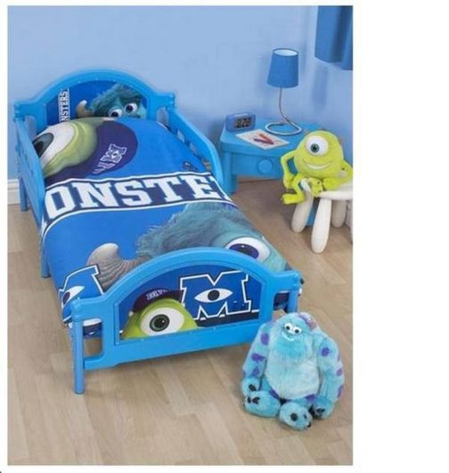 Parure copripiumino lettino con sponde Monster University