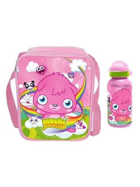 Set lunch box e borraccia Moshi Monsters