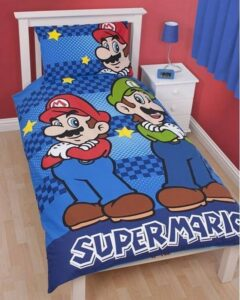 Parure copripiumino singolo Super Mario Bros