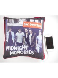Cuscino con altoparlante One Direction