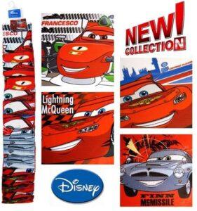 Set 4 asciugamani viso Disney Cars