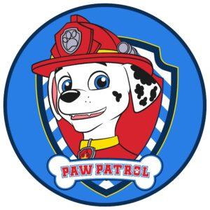 Tappeto rotondo Paw Patrol