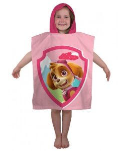 Accappatoio poncho Paw Patrol Girl
