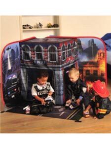 Tenda casetta 3D Pompieri