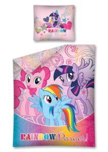 "Parure copripiumino singolo My Little Pony ""Rainbow Power"" 140x200"
