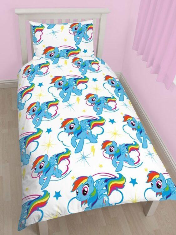 Parure copripiumino singolo My Little Pony Rainbow Dash