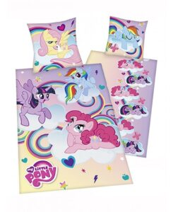 "Parure copripiumino singolo My Little Pony ""Clouds"""
