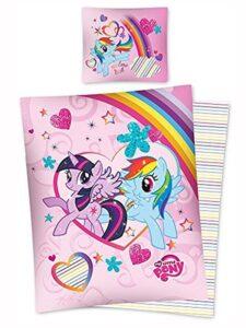 Parure copripiumino singolo double-face My Little Pony