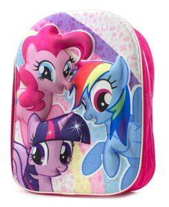 Zainetto 3D asilo My Little Pony