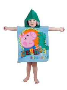 Accappatoio poncho George - Peppa Pig
