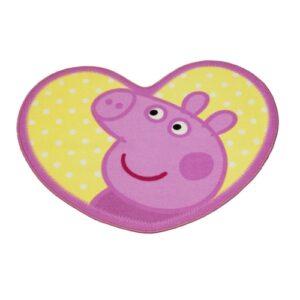 Tappeto sagomato Peppa Pig