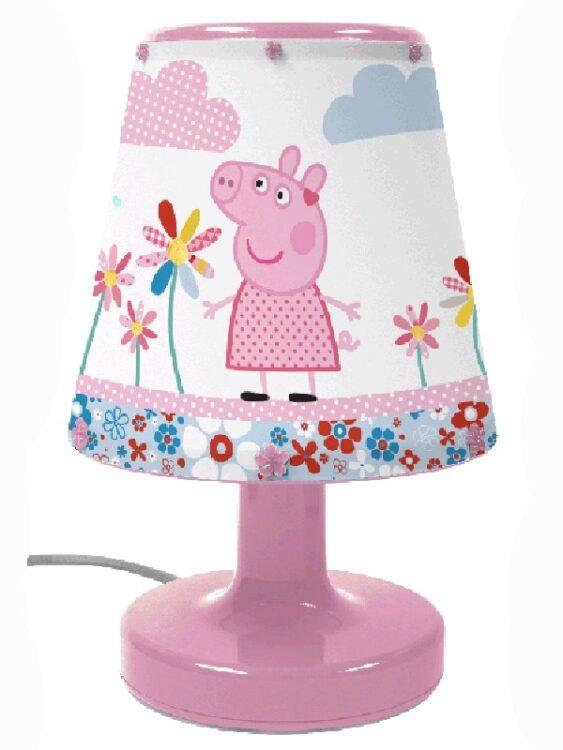 Lampada da comodino Peppa Pig
