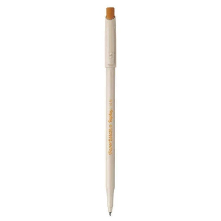 Replay Penna a Sfera Cancellabile Colore Arancione