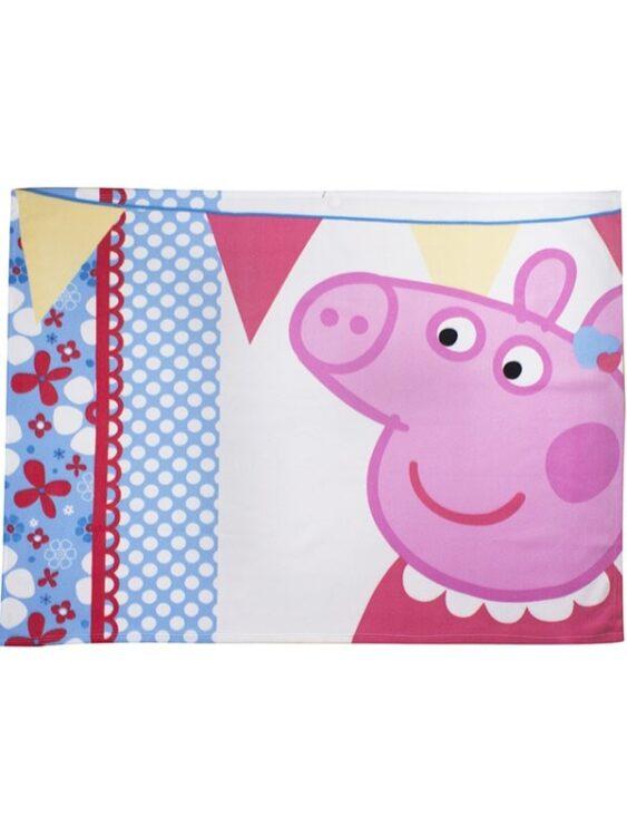 Plaid Pile Peppa Pig Tweet