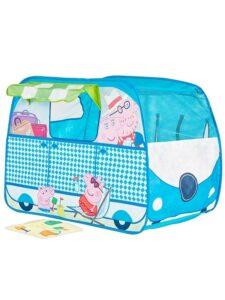 Tenda casetta Camper di Peppa Pig