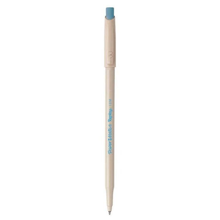 Replay Penna a Sfera Cancellabile Colore Turchese