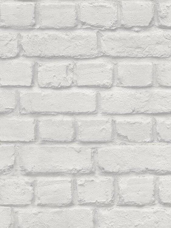 Carta da parati Mattoncini grigio scuro 10mt