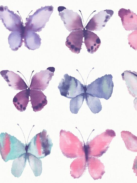 """Carta da parati """"Farfalle"""""""