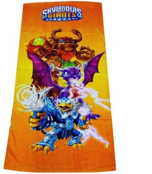 Asciugamano Telo Mare Skylanders Giants