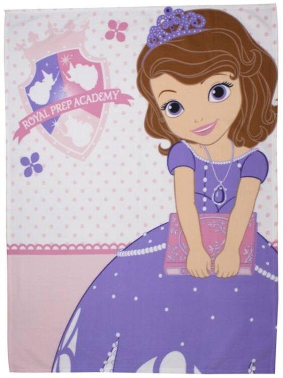 Plaid pile Sofia la Principessa Academy